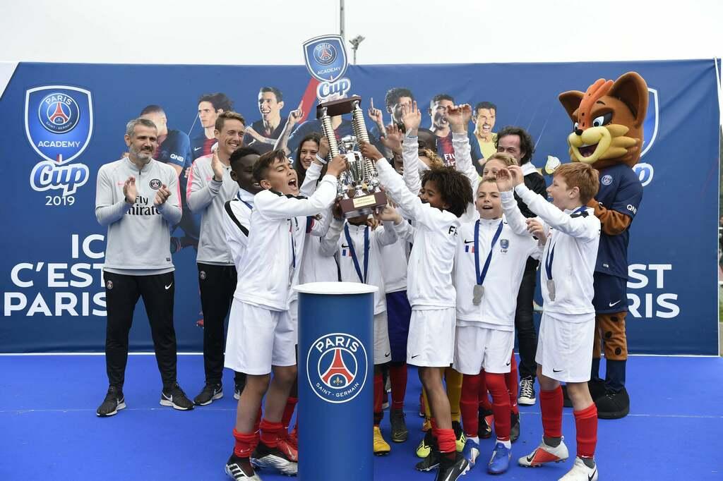 Paris Saint Germain Academy World Cup Gewinner winners