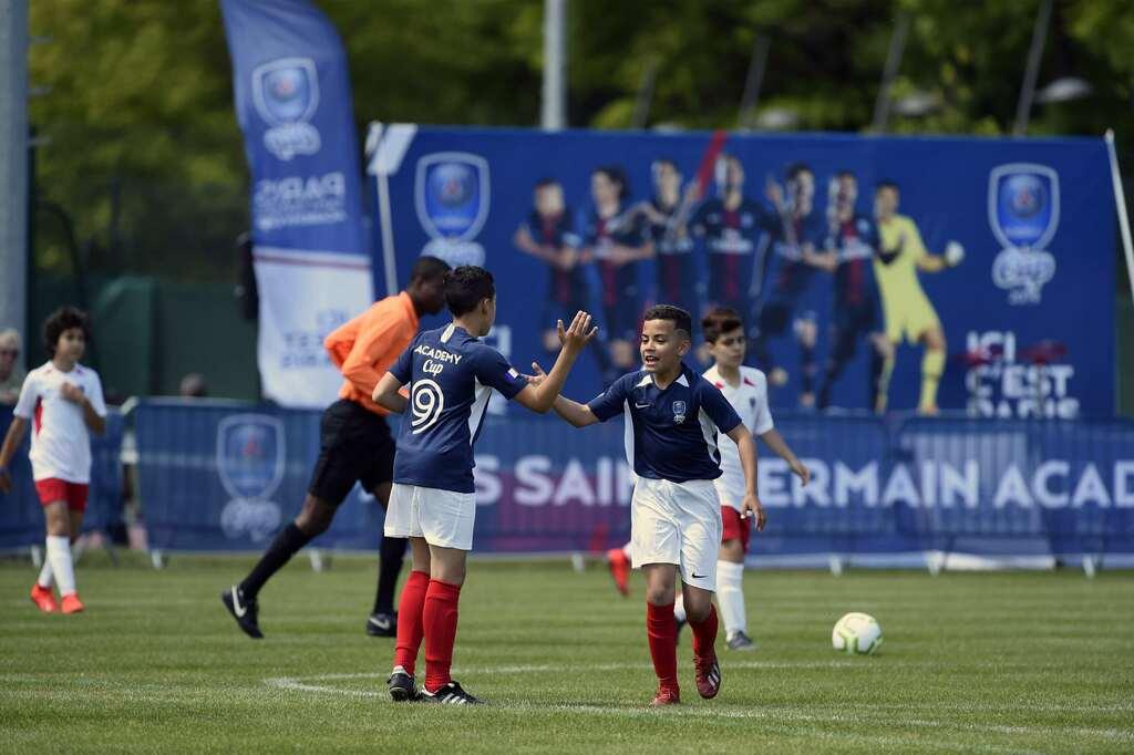 Paris Saint Germain Academy World Cup Turnierspiel tournament game