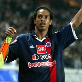 PSG Spieler Ronaldinho