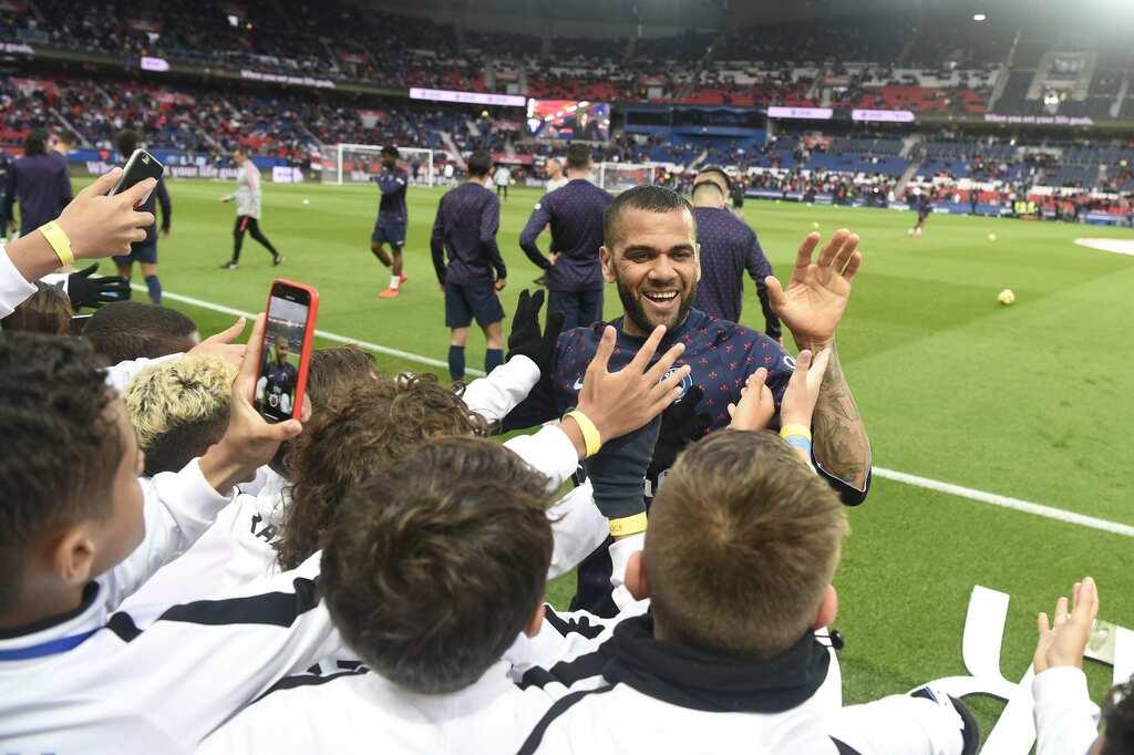 PSG Academy World Cup das viertägige Turnier im Parc des Princes bei einem Spiel der Profis