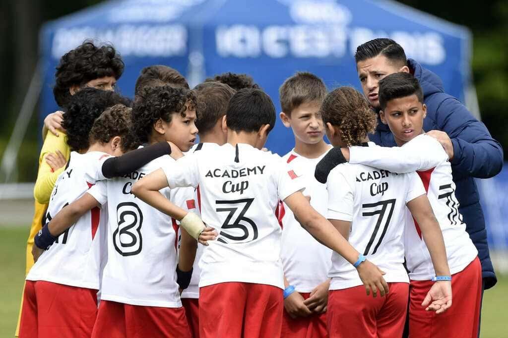 PSG Academy World Cup das Turnier. Der Pokal wird zwischen allen Akademien weltweit ausgespielt.