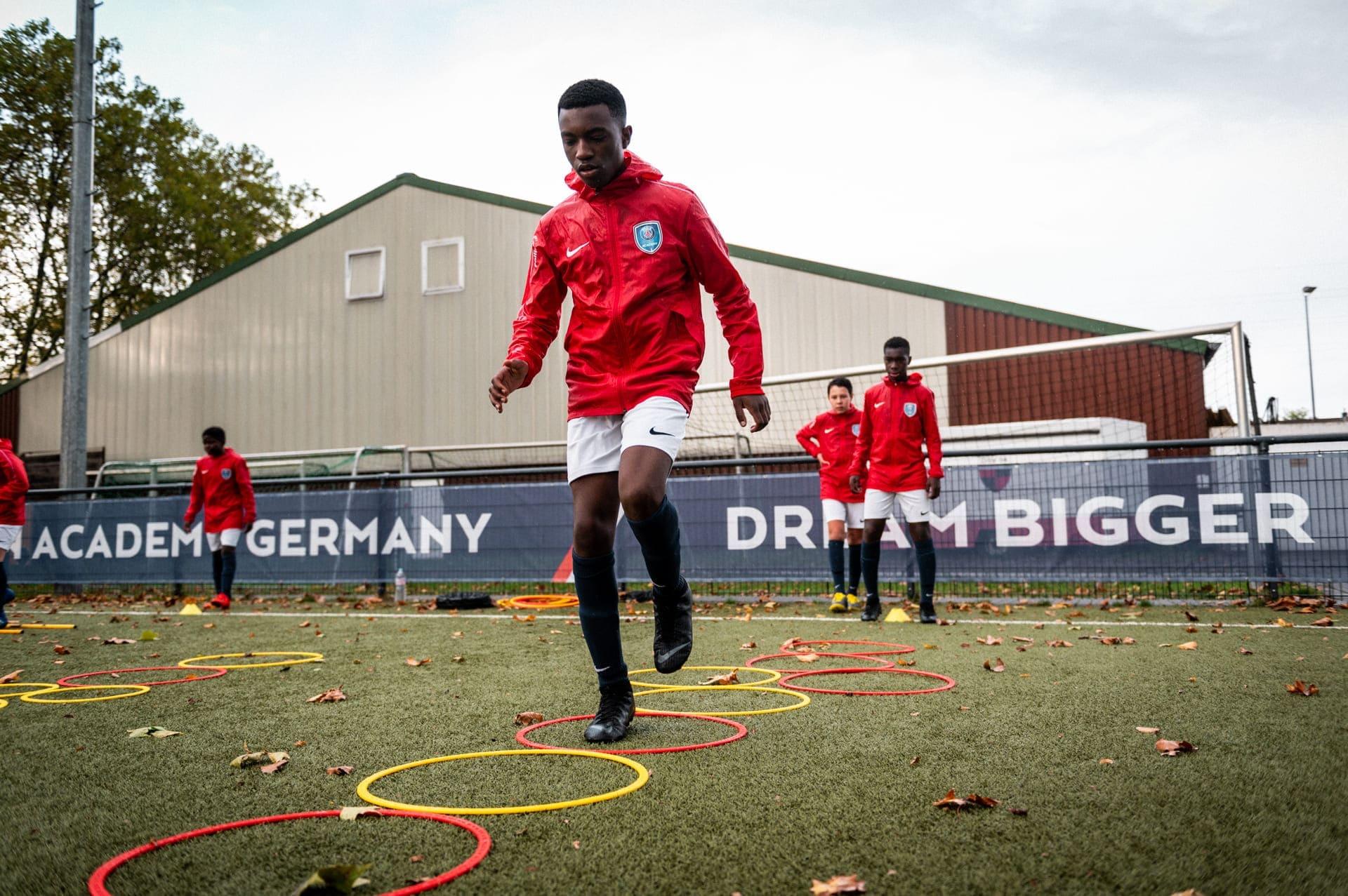 PSG Academy Germany Athletiktraining Ringe rings