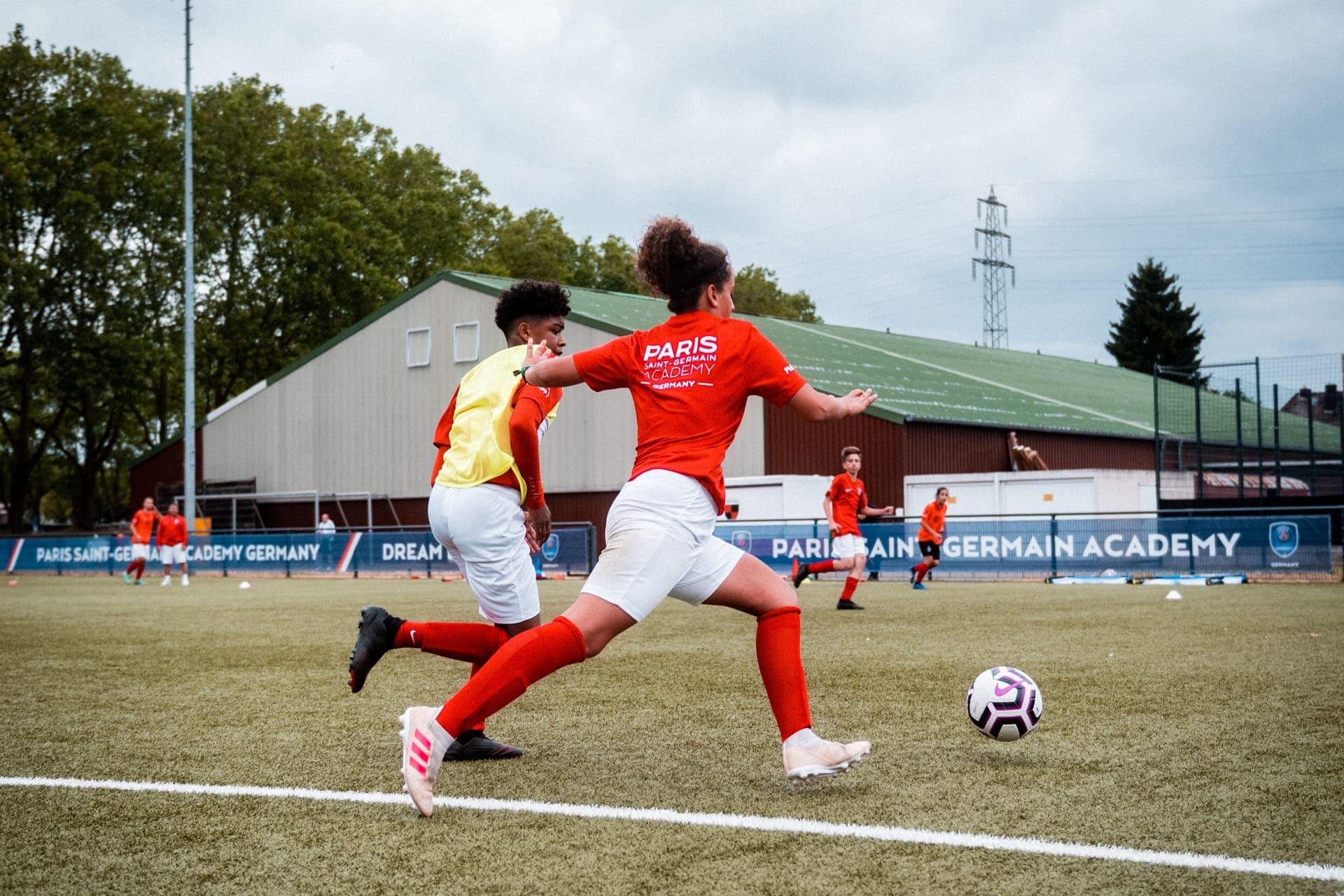 PSG Academy Germany Trainingseinheit Training session 1 vs 1