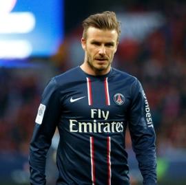 PSG ehemaliger Spieler David Beckham