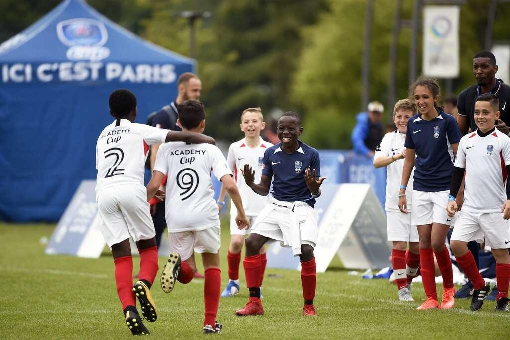 PSG Academy World Cup das viertägige Turnier im Parc des Princes